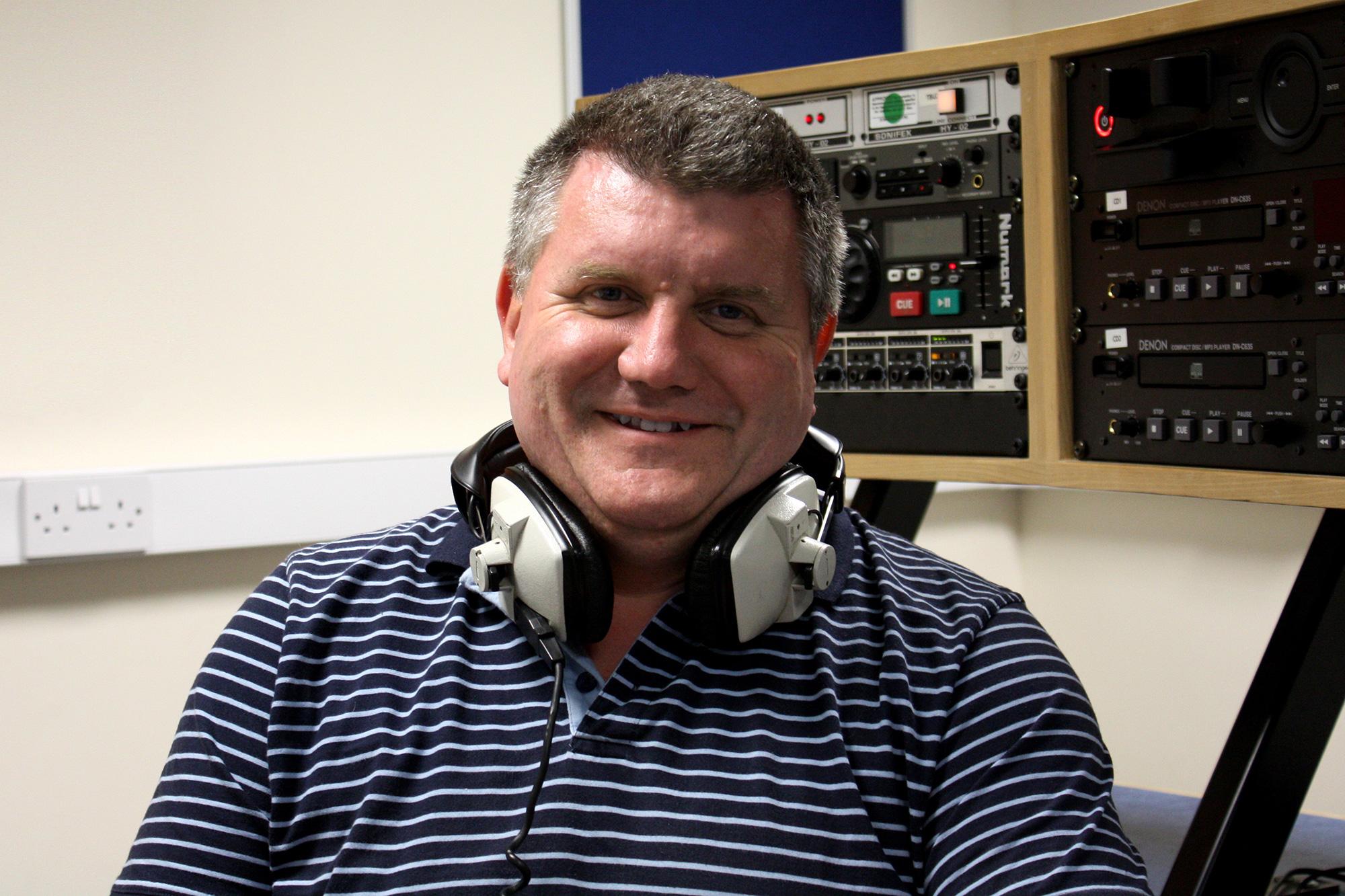 Keith Chilvers - Founding member of Radio Harrow